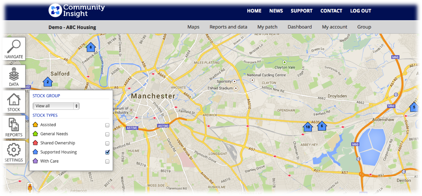 map services programs or properties munity insight australia