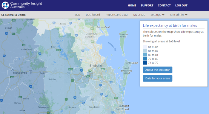 Dec update - Brisbane and surrounds- life expectancy at birth for males.png